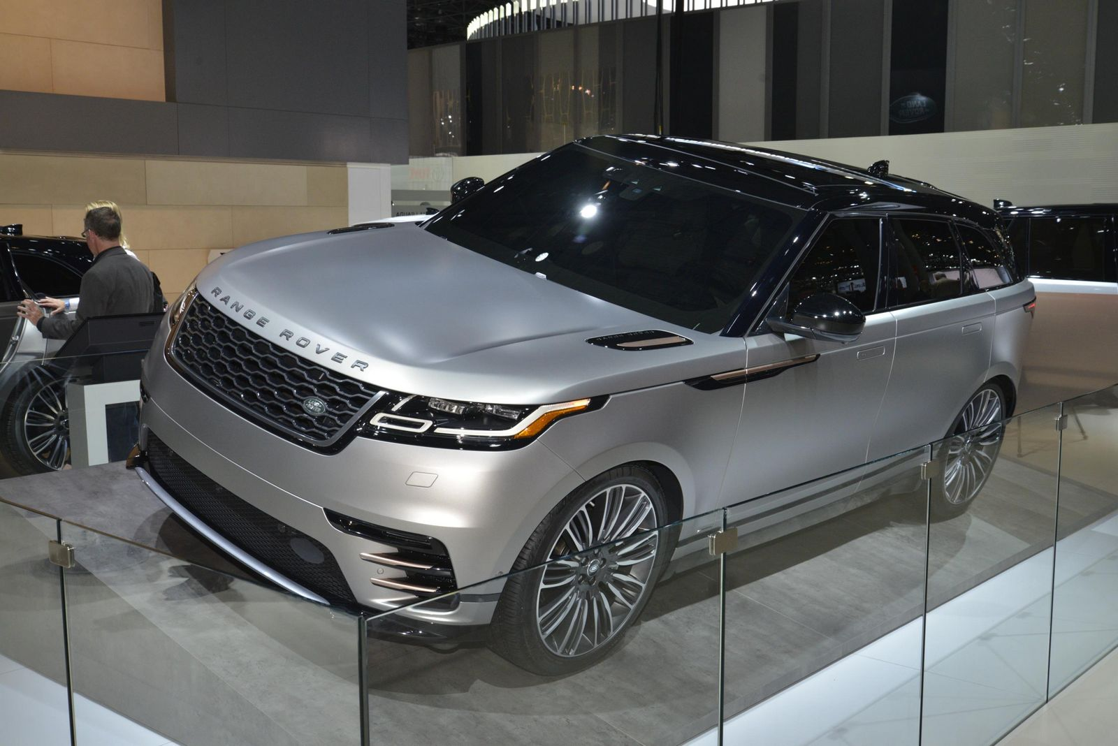 New Range Rover Velar Brings Its Tech Fest To New York