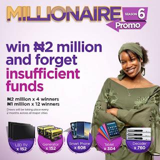 FCMB Millionaires Campaign Promo 2019 [Season 6] | Win 2Million Naira