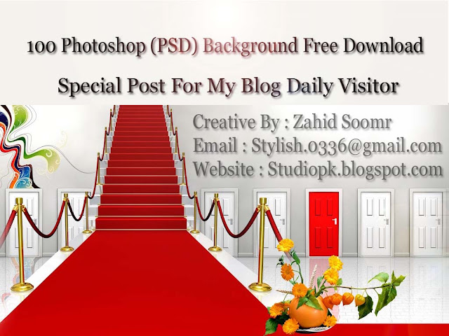 100 Photoshop (PSD) Background Free Download