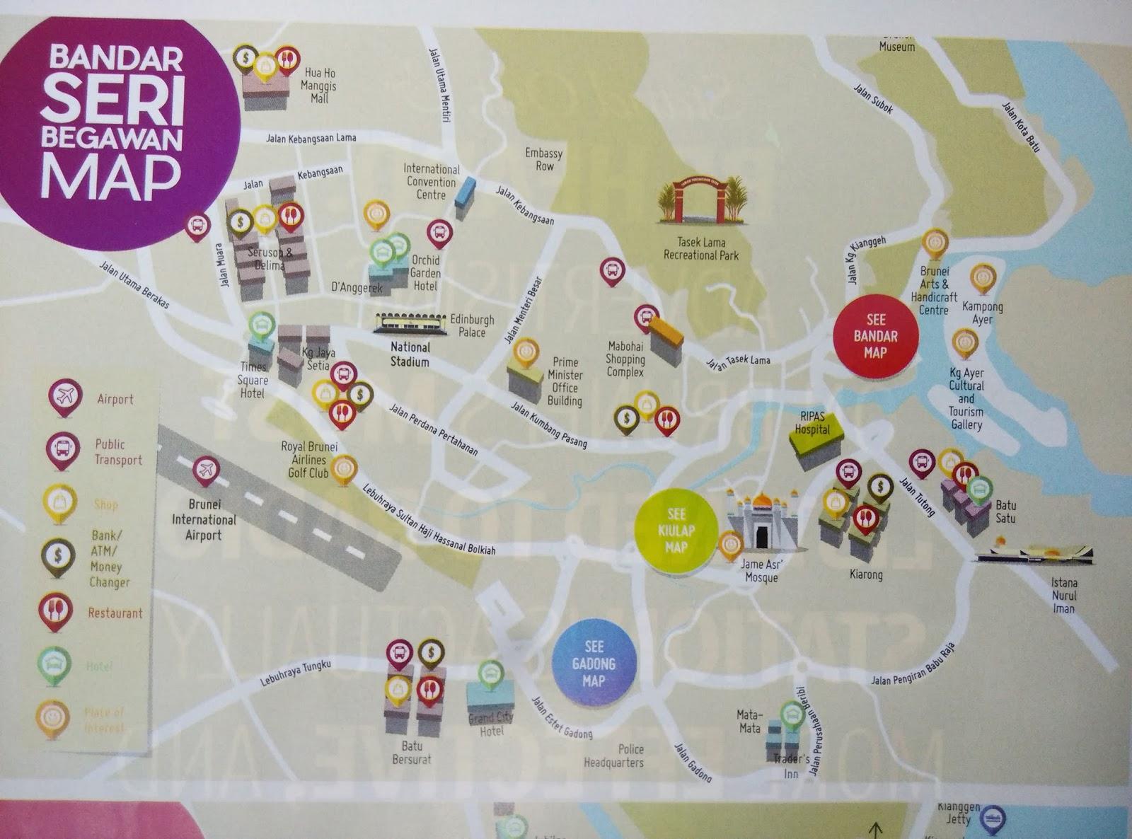 K M ChengTravel Journal Bandar Seri BegawanBrunei Iconic