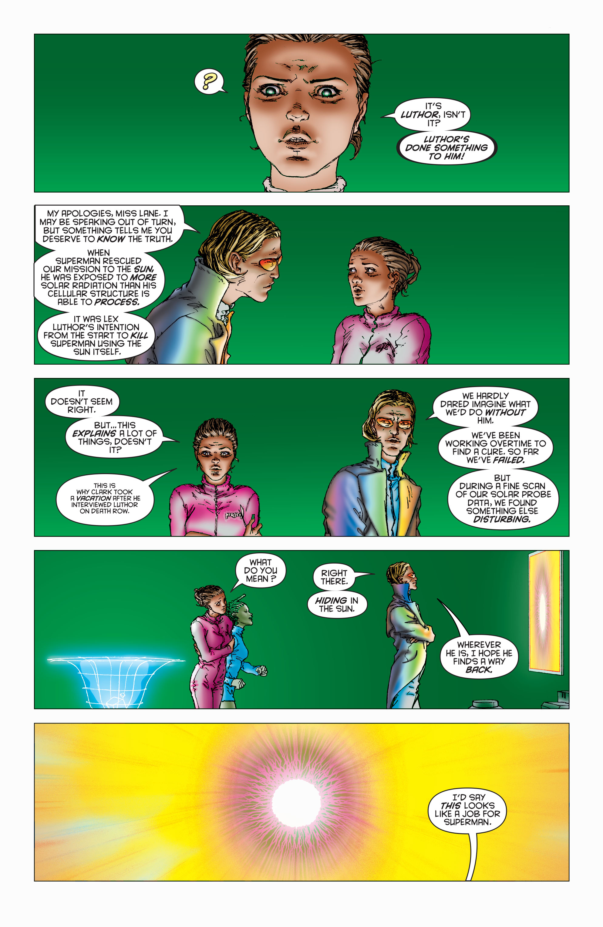Read online All Star Superman comic -  Issue #8 - 8