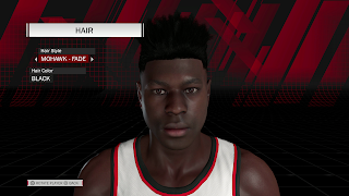MyPLAYER Hairstyle Mohawk Fade