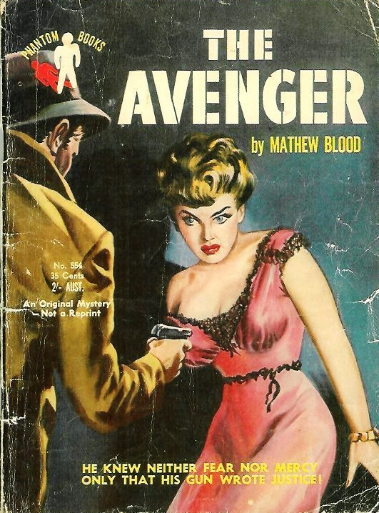 Matthew Blood  Davis Dresser   The Avenger  Phantom Books  Australia        blogger