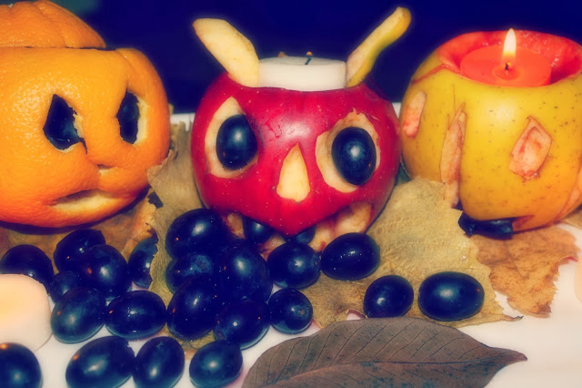 spooky fruit halloween fruits