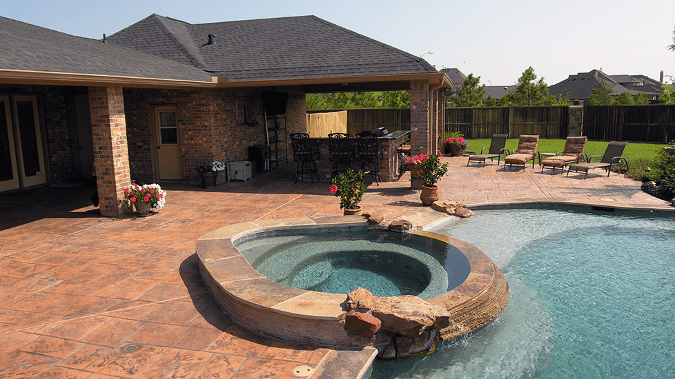 Custom Outdoor Patio Construction DFW 17