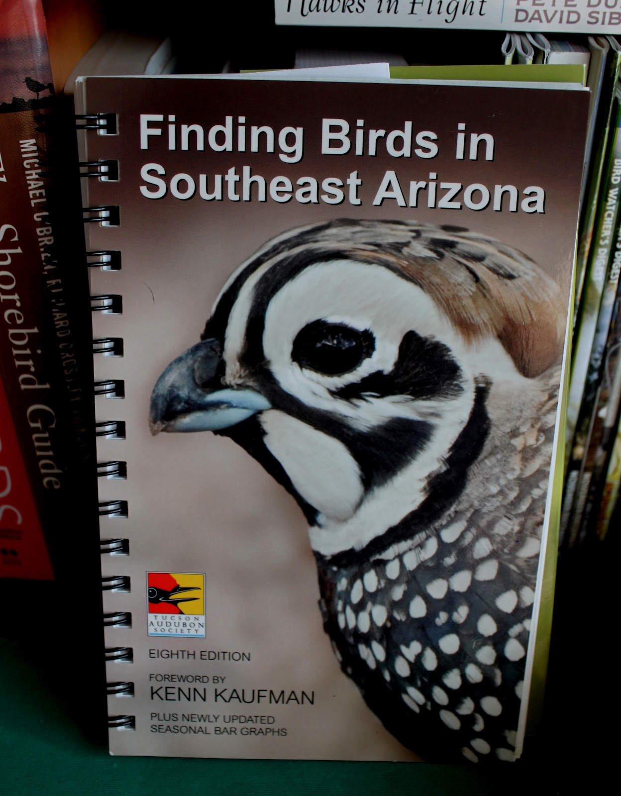 It gives a lot of trip planning advice, including some tips about visiting  Mexico. The book is set out in areas. For example, Chapter 1 is Urban  Tucson, ...