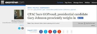 CPAC GOProud Gary Johnson Jimmy LaSalvia