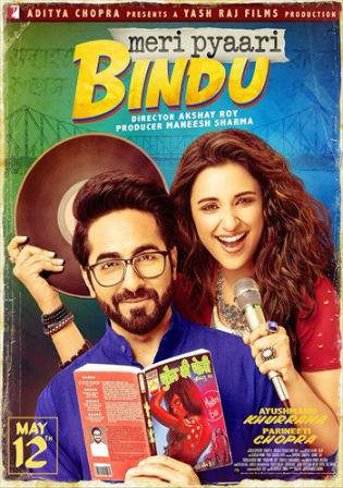 Meri Pyaari Bindu 2017 DVDRip 280MB Hindi 480p Watch Online Full Movie Download bolly4u