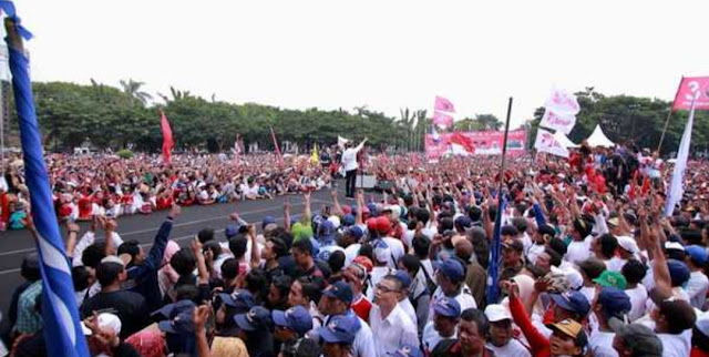 Ribuan Eksponen Muda Muhammadiyah Deklarasi Dukung Jokowi-Maruf
