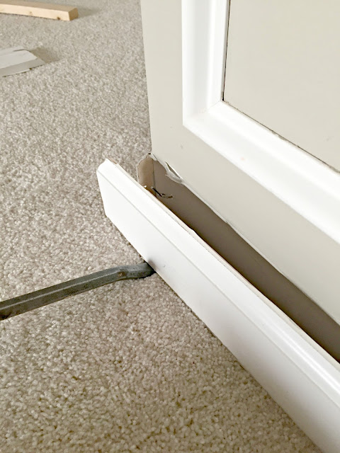 Easiest way to remove baseboards without drywall damage