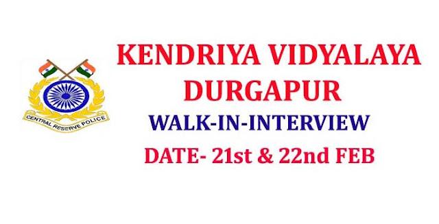 CRPF Recruitment 2019 in kendriya vidyalaya, kendriya vidyalaya teacher recruitment 2019