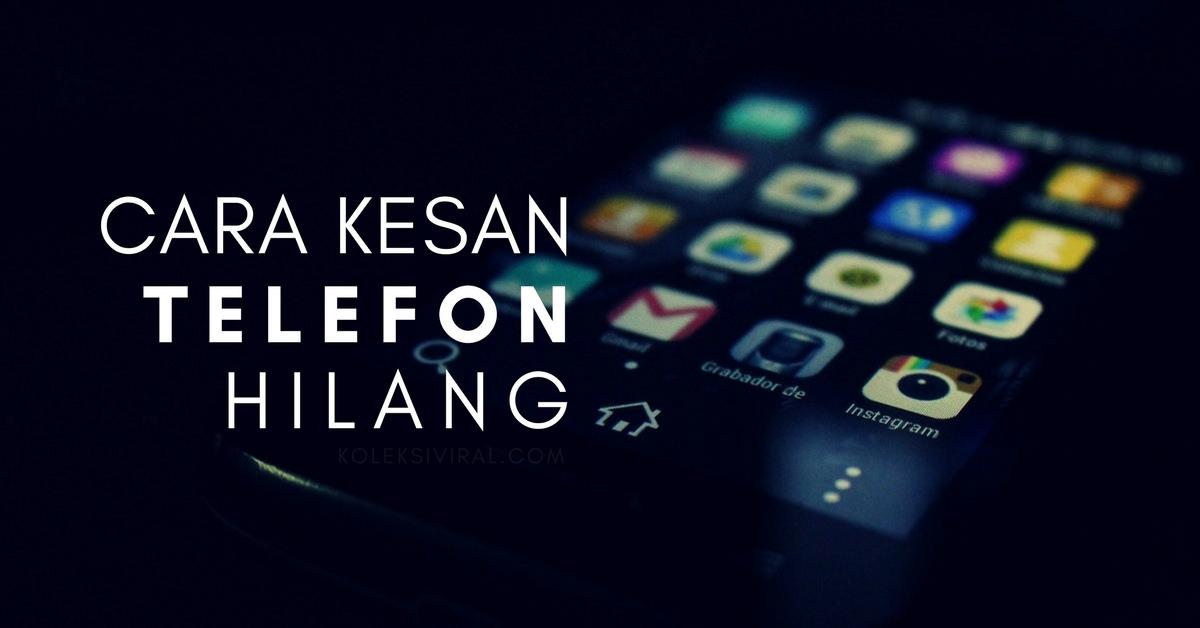 cari telefon saya