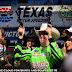 Kyle Busch shoots the guns at Texas Motor Speedway