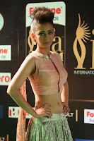 Akshara Haasan in Peachy Crop Top Choli Skirt at IIFA Utsavam Awards 69.JPG