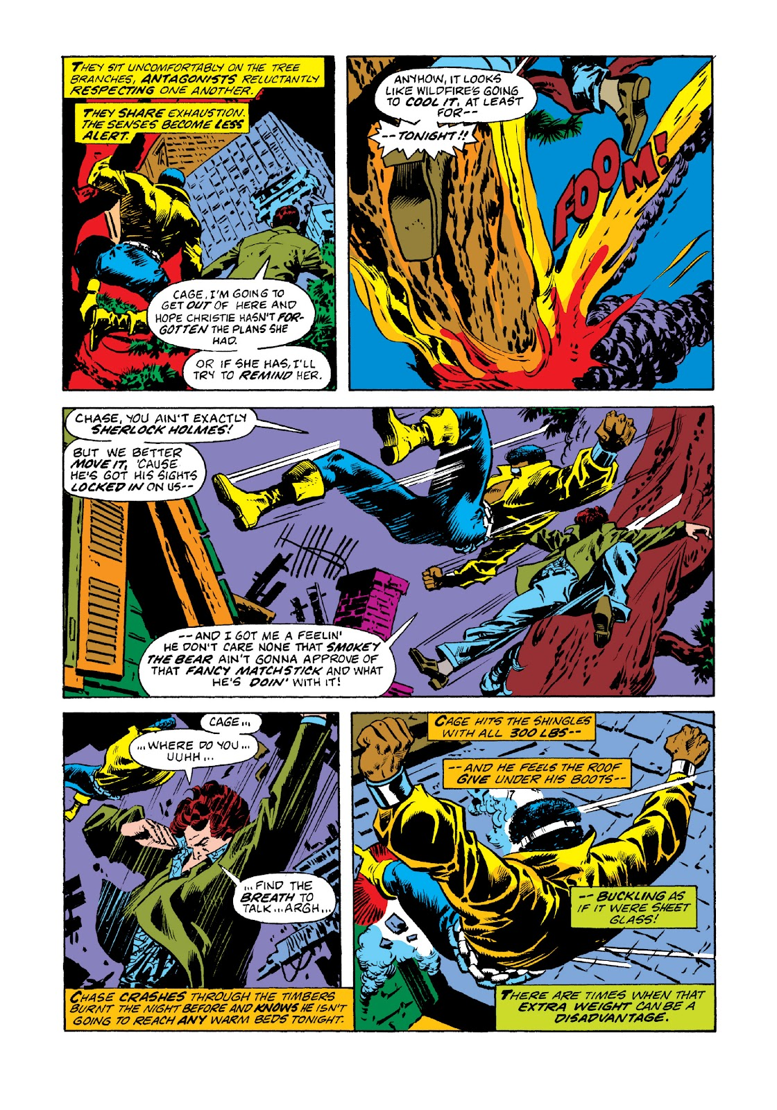 Read online Marvel Masterworks: Luke Cage, Power Man comic -  Issue # TPB 3 (Part 1) - 22