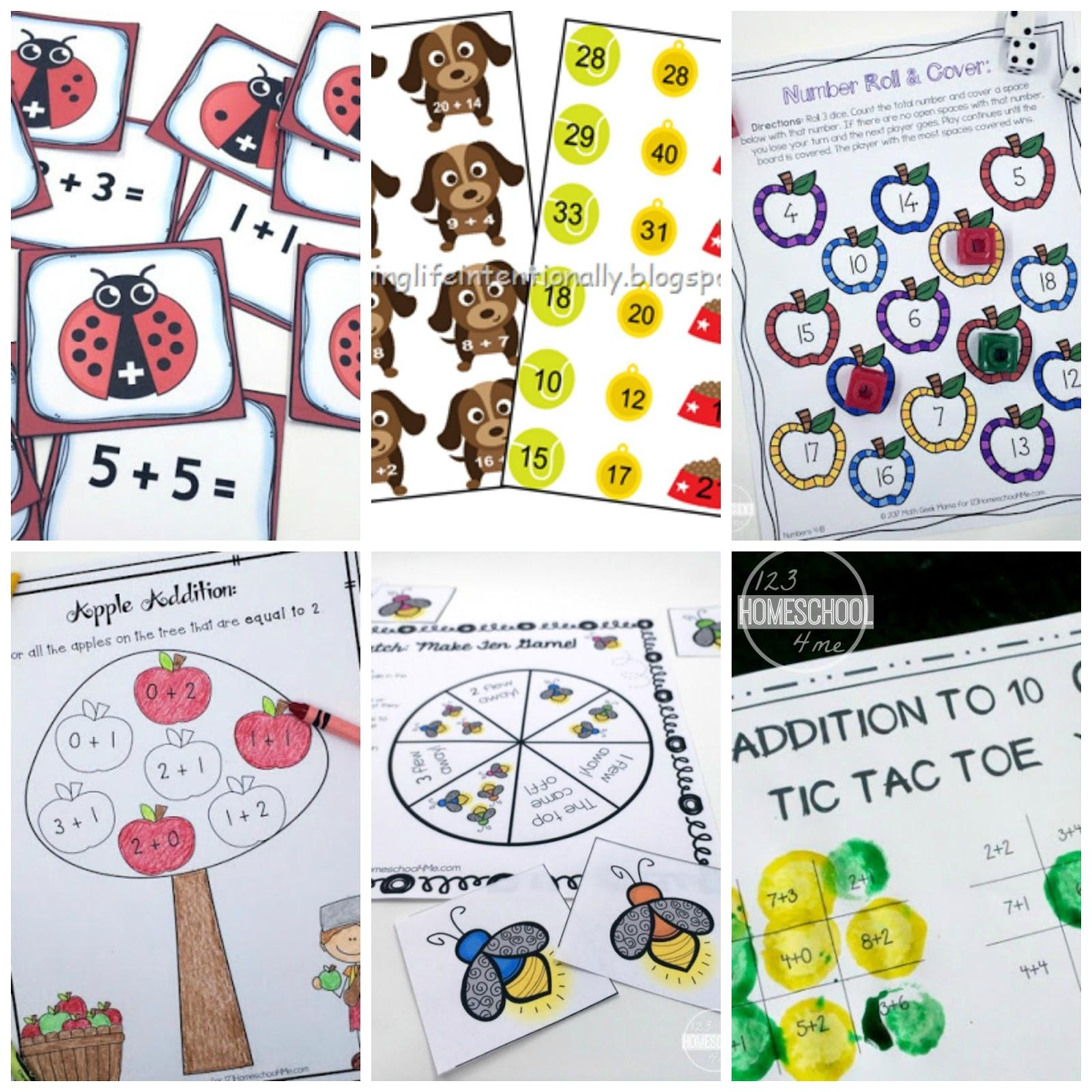 Kindergarten Worksheets And Games 20 Kindergarten Math