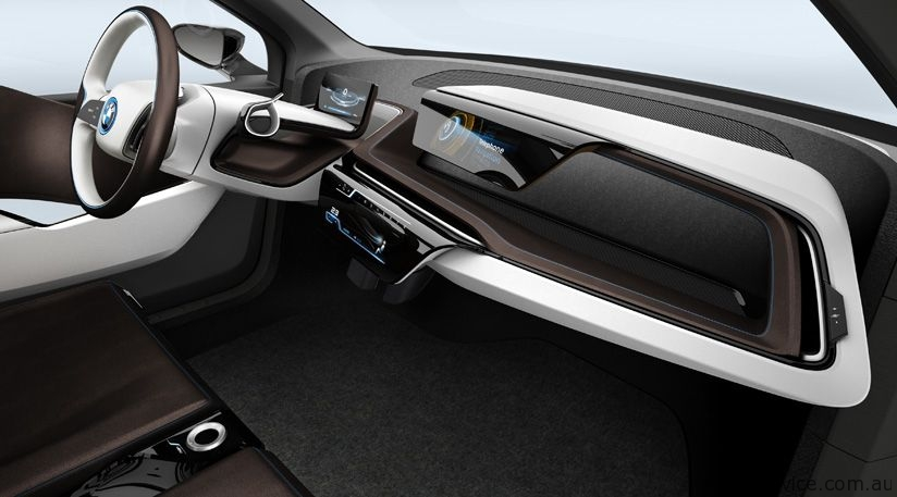 Bmw I8 Concept Less Fuel Consumption More Pleasure In Driving Mr