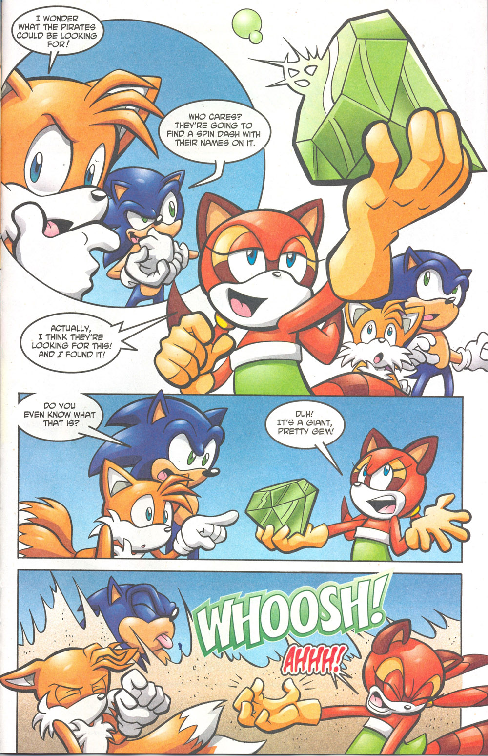 Read online Sonic The Hedgehog comic -  Issue #180 - 22