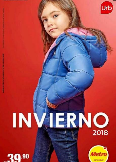 Metro catalogo Marca URB ropa damas julio 2018