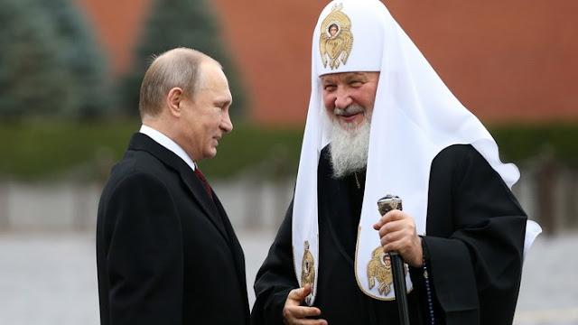 """Στο Άγιον Όρος τέλη Μαΐου ο Πατριάρχης της Ρωσίας Κύριλλος και ο Πούτιν. Νέο """"επεισόδιο"""" στη σχέση Φαναρίου - Μόσχας"""