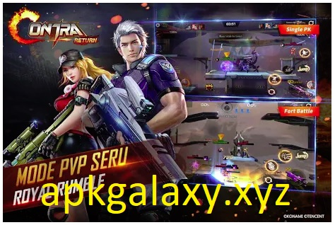 Garena Contra Return Mod Apk + DATA