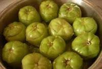 yeşil domates dolması nasıl yapılır