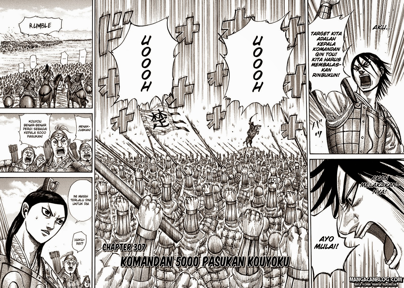 Kingdom Chapter 307