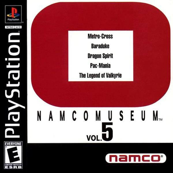 Namco Museum Vol.5 - PS1 - ISOs Download