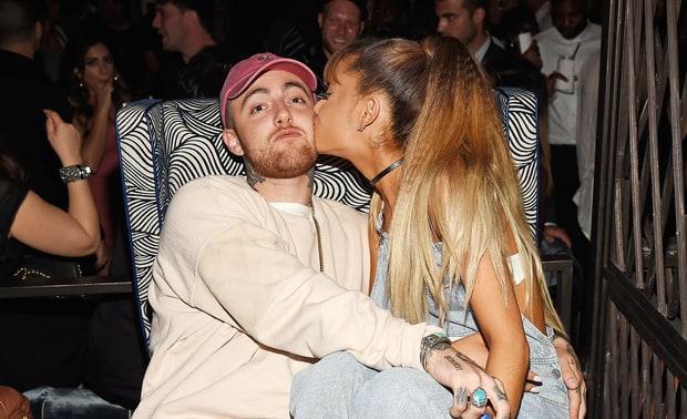 Mac Miller habla sobre su relación con Ariana Grande.