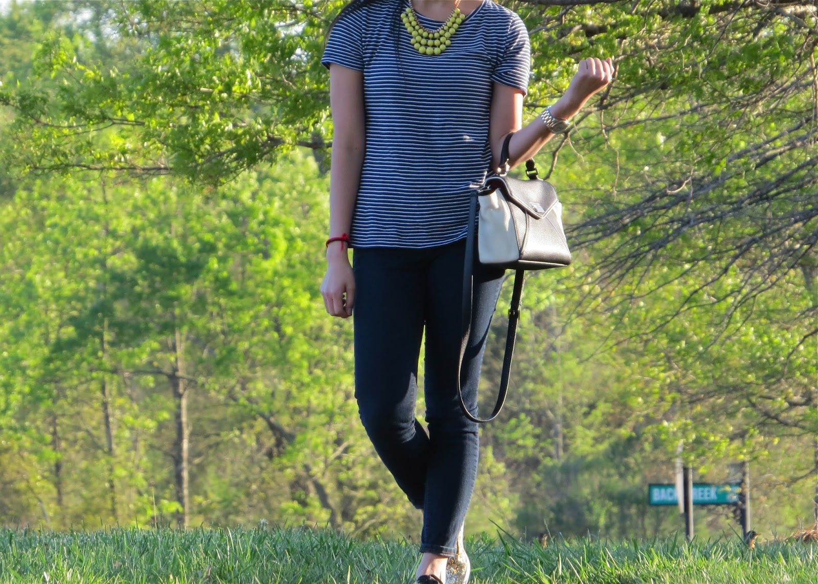 navy_and_white_stripe_top_+_yellow_statement_necklace