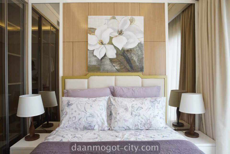 show unit apartemen DAMOCI - Master Bedroom