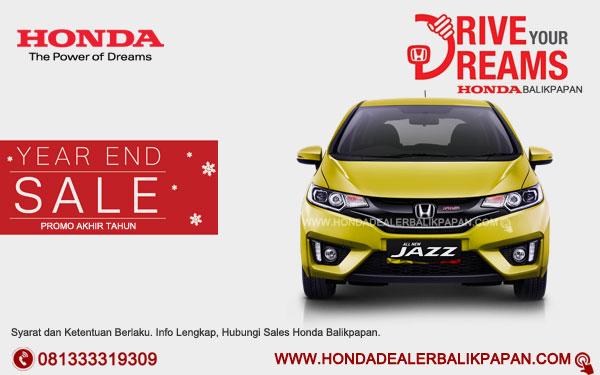 Promo Akhir Tahun Honda Jazz Balikpapan