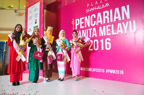 Pencarian Wanita Melayu 2016 - top 3