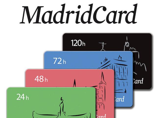 Opções do Madrid Card