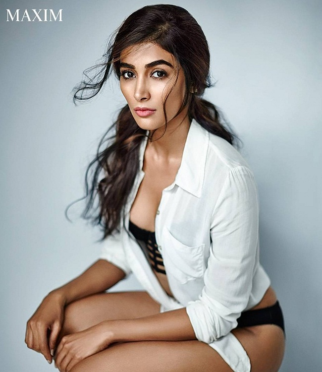 Pooja Hegde Photoshoot For Maxim India Magazine March 2017