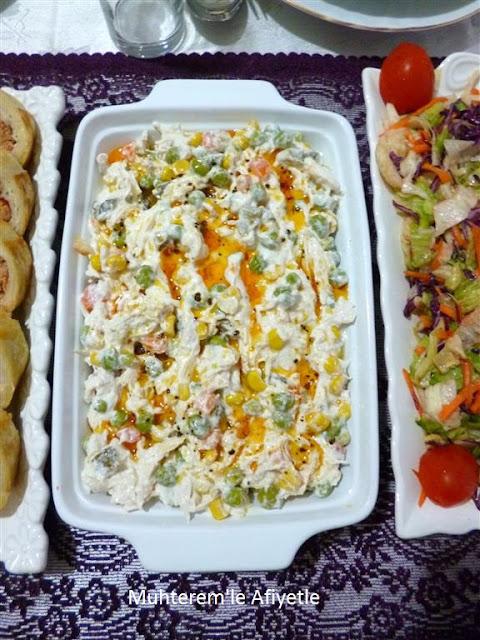 iftar yemeği için salata önerisi