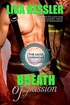 Breath of Passion (The Muse Chronicles #3) by Lisa Kessler (PNR)
