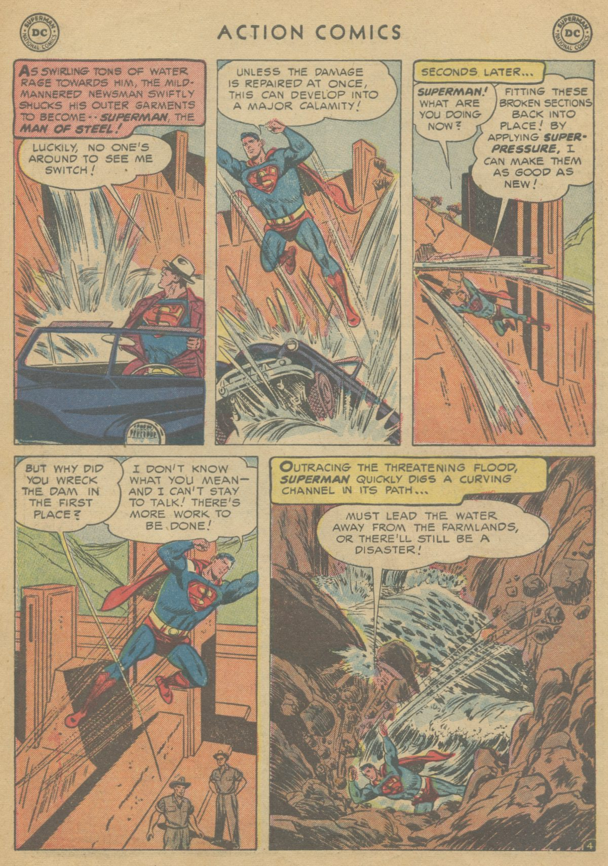 Read online Action Comics (1938) comic -  Issue #199 - 7
