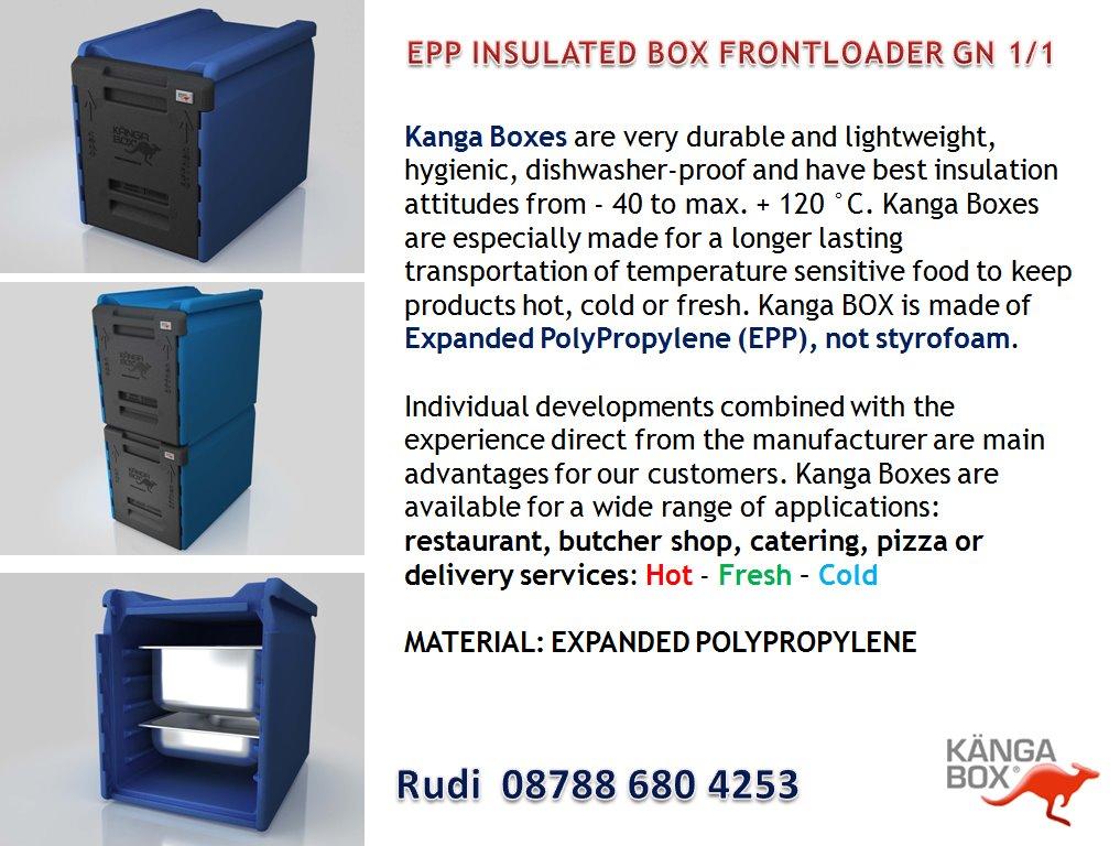 Optima Kreasi Utama: EPP INSULATED BOX FRONTLOADER GN 1/1