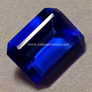 Batu Permata Blue Obsidian + Memo - ZP 248