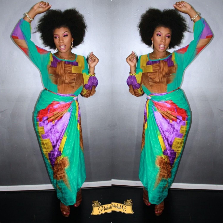 Beautiful Kitenge Mishono,lace,satin And Chiffon Designs