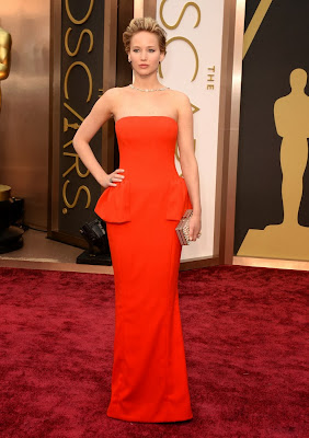 Oscars 2014 Jennifer Lawrence