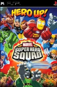 Download Marvel Superhero Squad PSP Iso Cso Ukuran Kecil