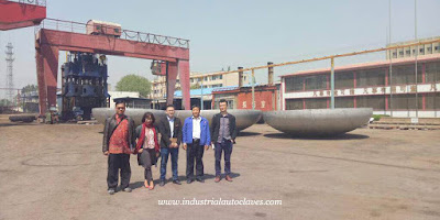 Indonesia Customers Visited Our Elliptical Head Factory