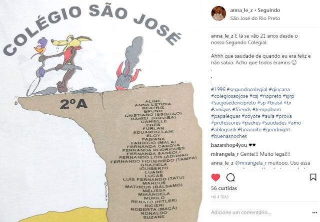 Gincana Colégio São José 1996 Segundo Colegial São Jose do Rio Preto