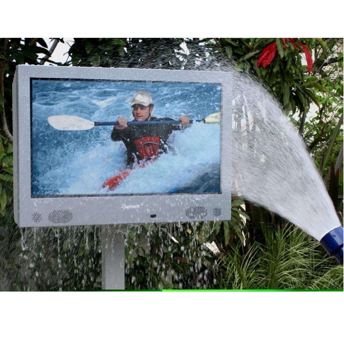 Une télévision totalement étanche à l'eau