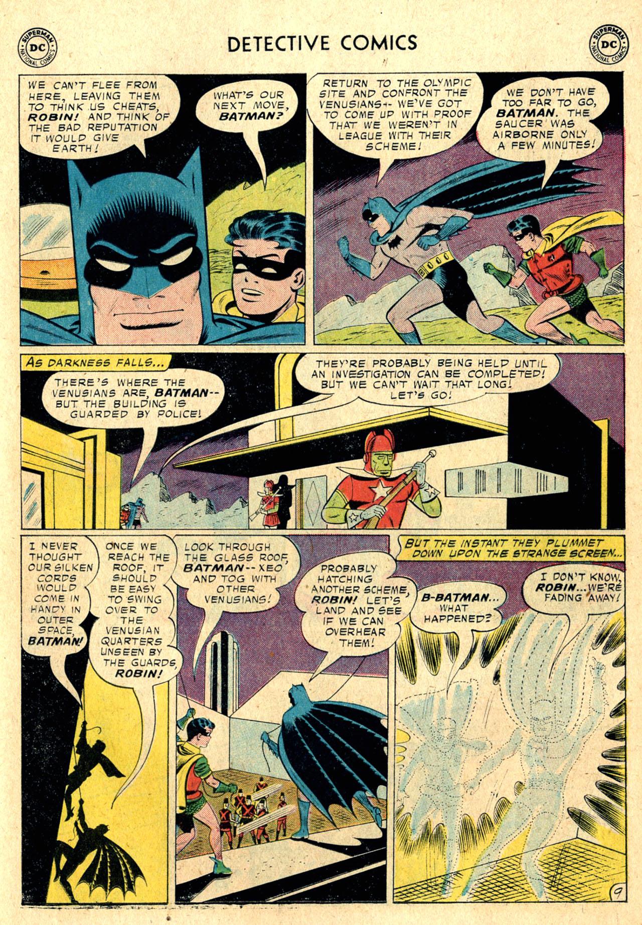 Read online Detective Comics (1937) comic -  Issue #260 - 11