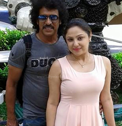 Upendra and his wife: