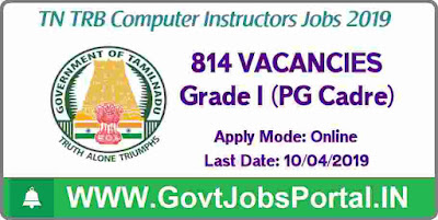 Tamilnadu Government Jobs 2019