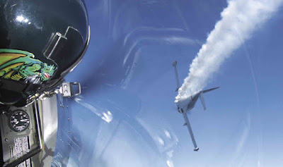 Air Combat, plane hit and smoking